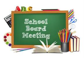 Andrew July School Board Meeting