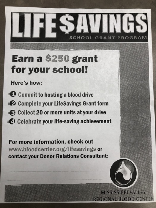 $250 opportunity for the school!