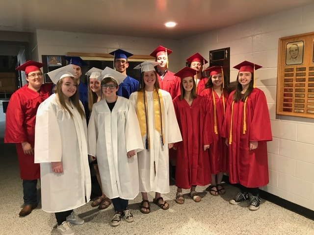 Former students graduating!