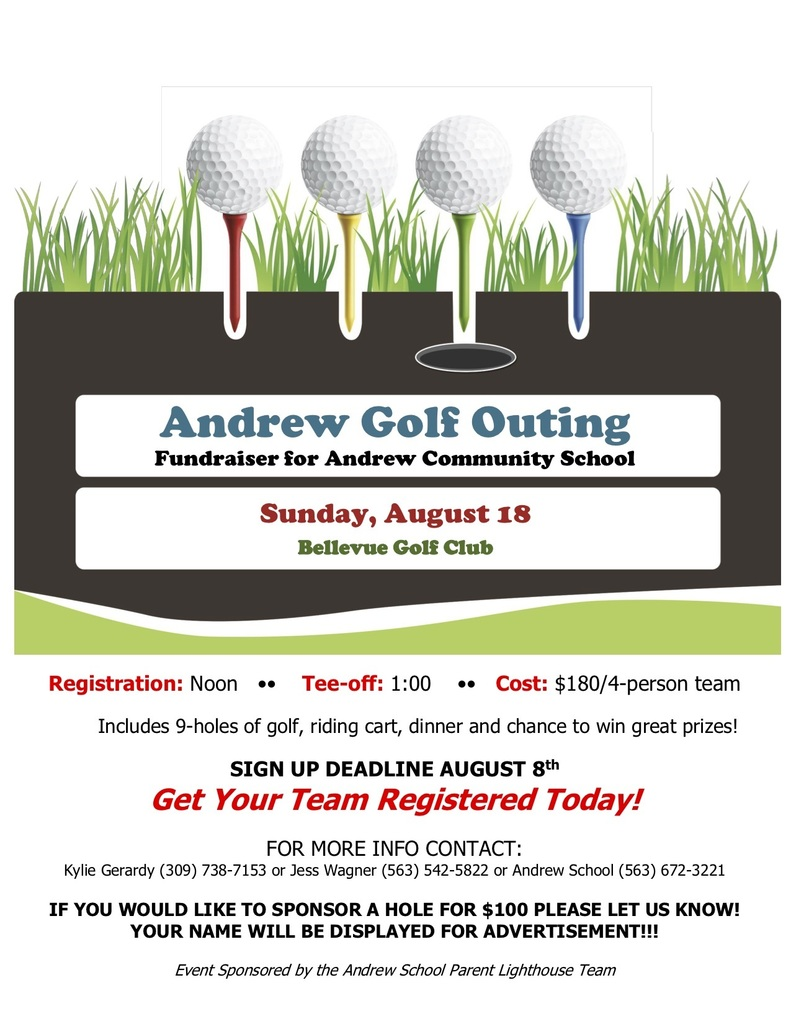Andrew Golf Outing Flier