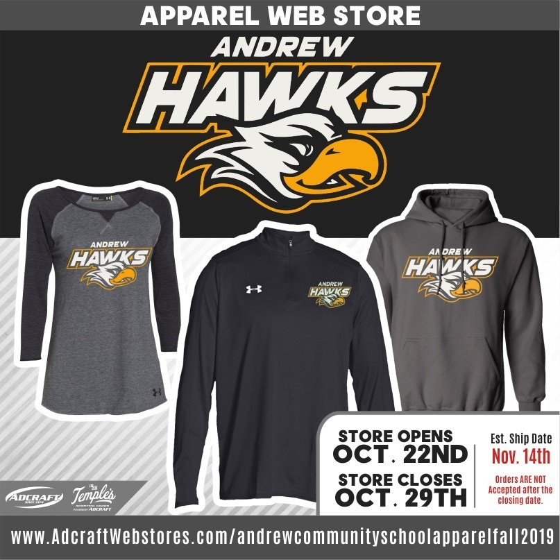 Andrew Community School Fall Apparel